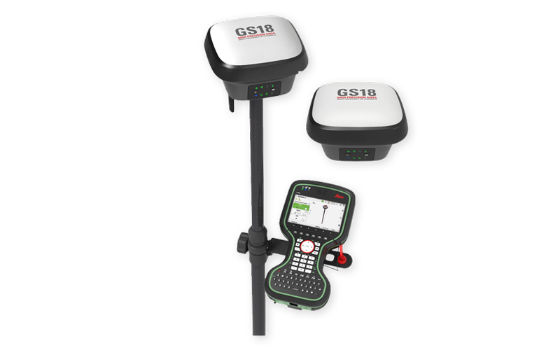 LEICA GS18 T - WORLD'S FASTEST GNSS RTK ROVER