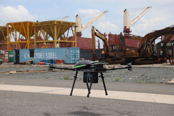 Bringing unmanned aerial equipment 20 billion into construction survey design