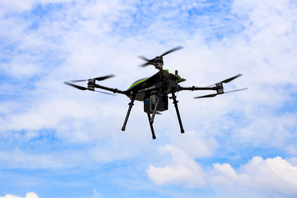 Application of unmanned aerial equipment to test buildings in Vietnam