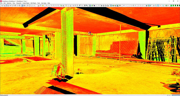 Leica Cyclone 3D Point Cloud Processing Software