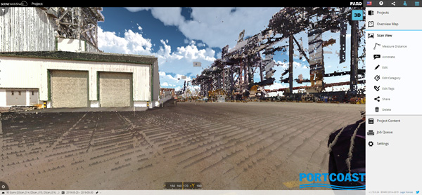 FARO SCENE WebShare Cloud